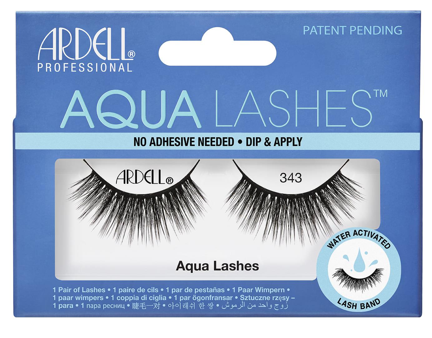 63404 Aqua Lashes 343 Front Box