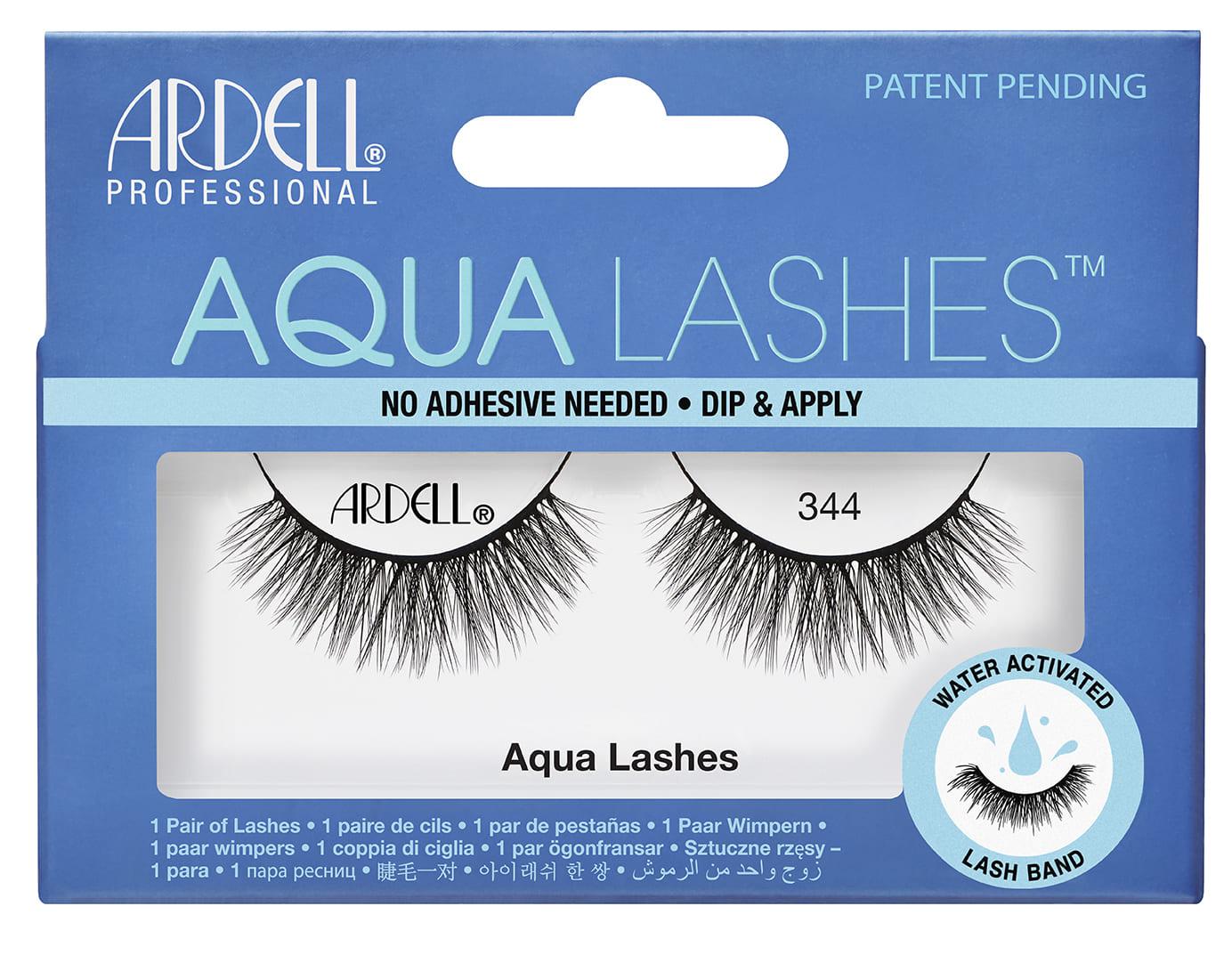 63405 Aqua Lashes 344 Front Box